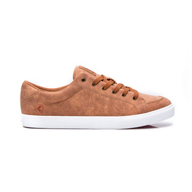 KUSTOM SHOES KRAMER SHOE / BROWN DISTRESS