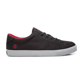 KUSTOM SHOES KRAMER SHOE / BLACK RED