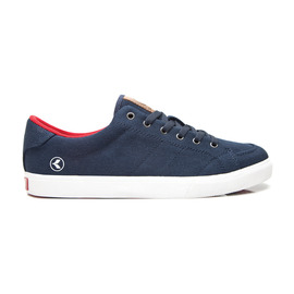 KUSTOM SHOES KRAMER SHOE / NAVY RED