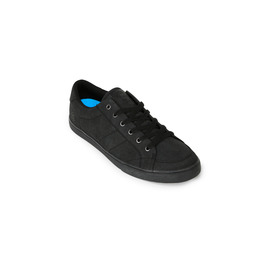 KUSTOM SHOES KRAMER SHOE / BLACK TOUGH BLACK
