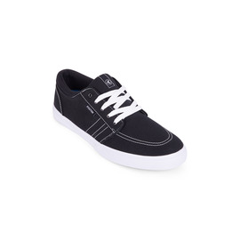 KUSTOM SHOES REMARK SHOE / BLACK WHITE