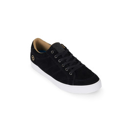 KUSTOM SHOES KRAMER / BLACK SUEDE