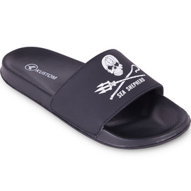 KUSTOM THONGS SEA SHEPHERD / BLACK