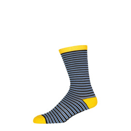 KUSTOM CLOTHING & ACCESSORIES M CREW SUPER STRIPE SOCKS