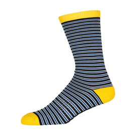 KUSTOM SOCKS M CREW SUPER STRIPE SOCKS