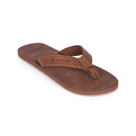 KUSTOM THONGS CABA / BROWN