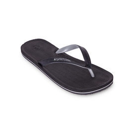 KUSTOM THONGS RIPPLER / BLACK GREY