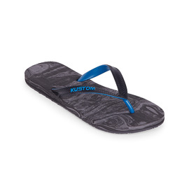 KUSTOM THONGS FOAMY / CHARCOAL BLUE