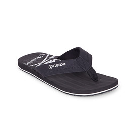 KUSTOM THONGS SS BURLEIGH / BLACK