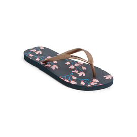 KUSTOM THONGS & SANDALS CLASSIC / NAVY FLORAL