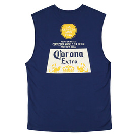 KUSTOM CLOTHING & ACCESSORIES CORONA LABEL MUSCLE TEE
