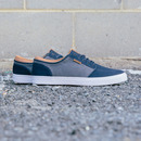 - REMARK SHOE / NAVY GREY TAN - Alternate Image 3