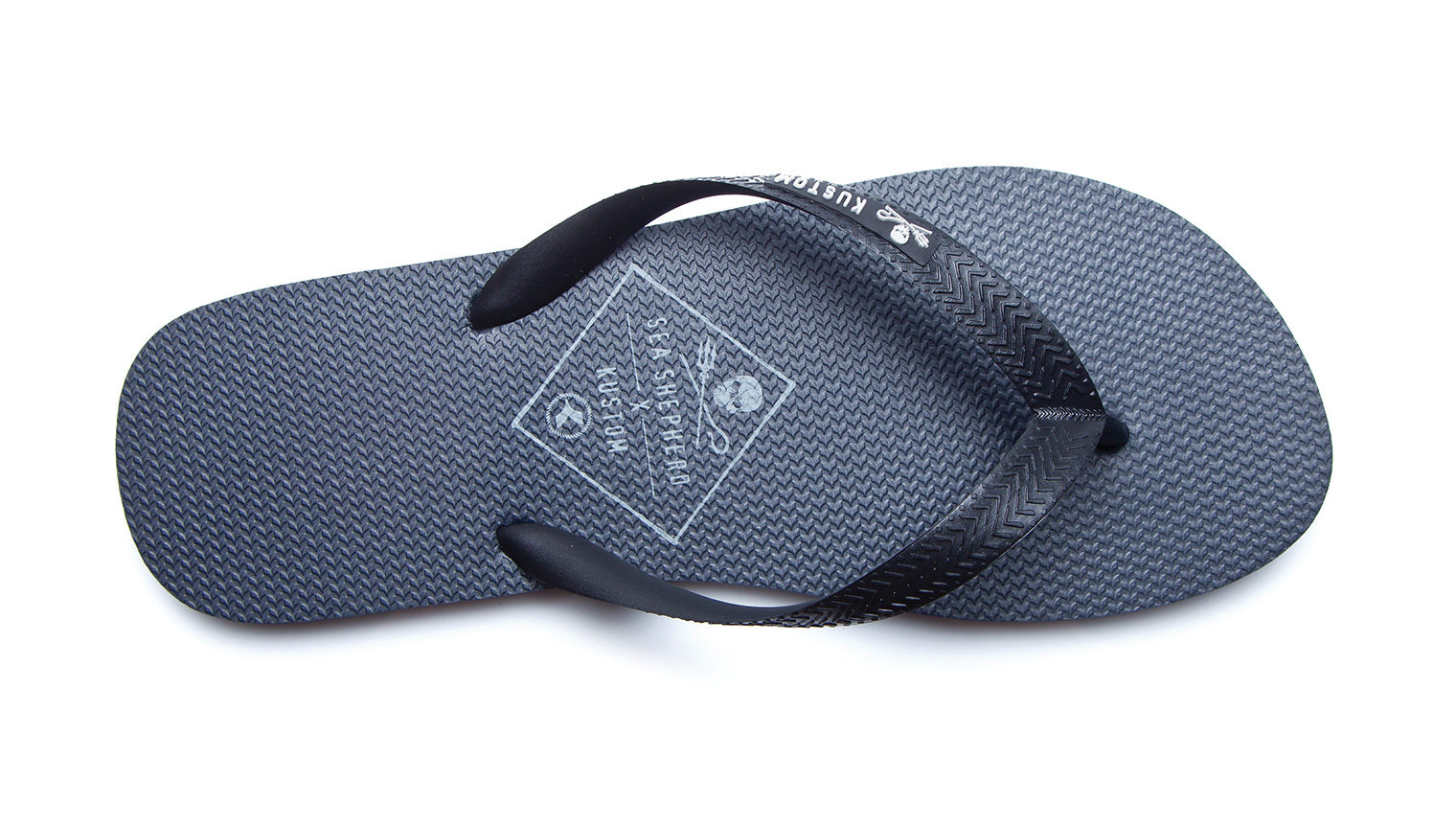 KUSTOM THONGS SEA SHEPHERD THONG / NAVY