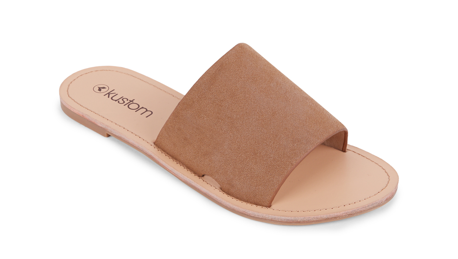 KUSTOM THONGS & SANDALS BYRON SANDAL / BROWN