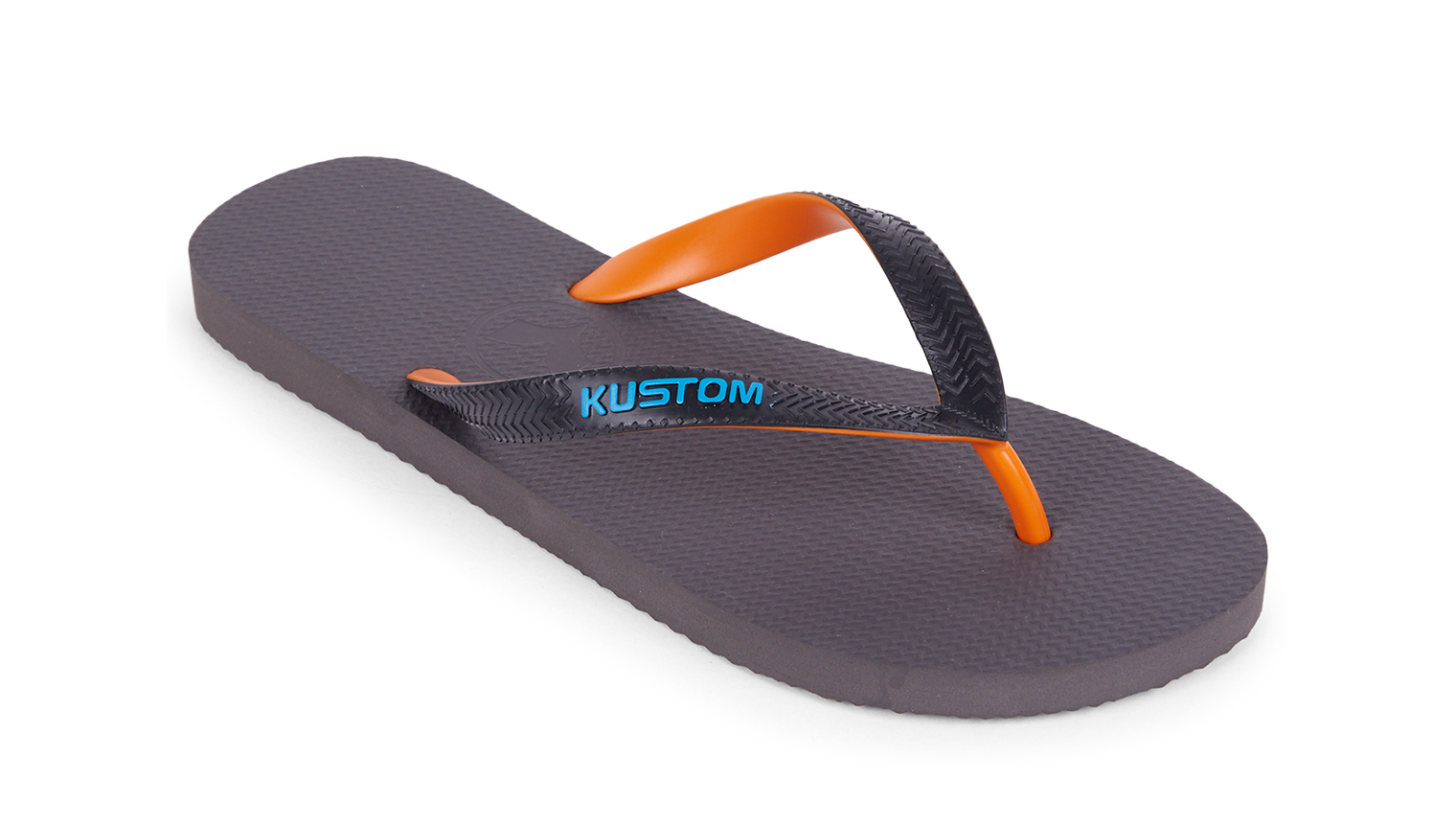 KUSTOM THONGS BLEND BASE THONG / ORANGE CHARCOAL