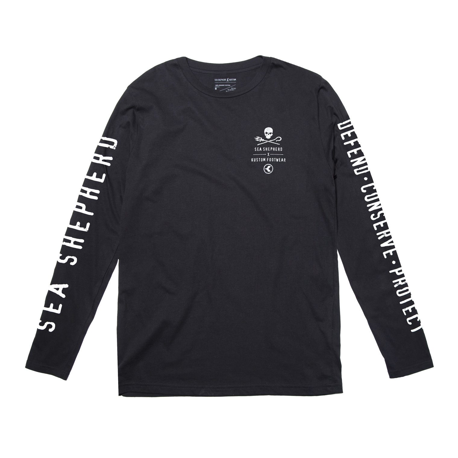 KUSTOM SEA SHEPHERD X KUSTOM OCEAN PROJECTS SS DCP LONGSLEEVE
