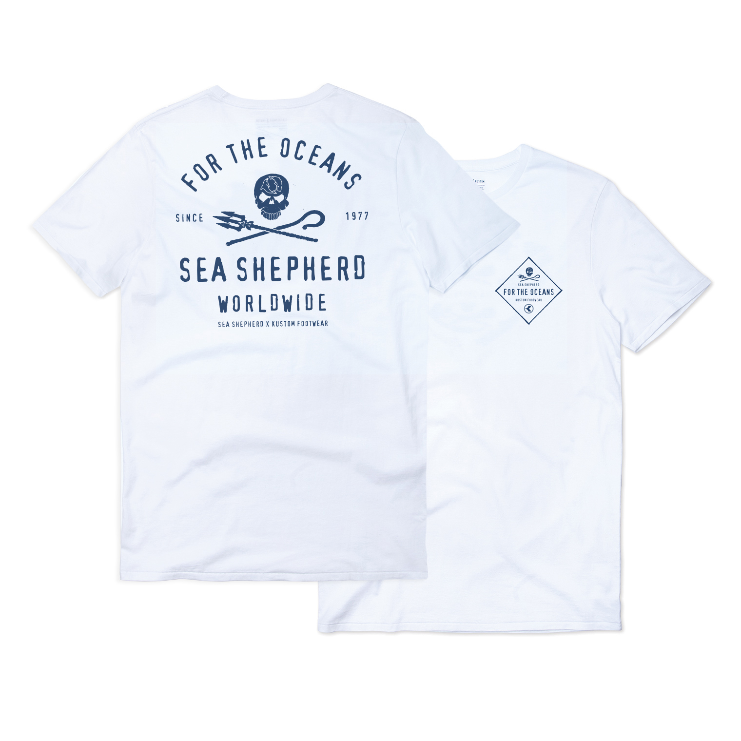 KUSTOM SEA SHEPHERD X KUSTOM OCEAN PROJECTS SS FOR THE OCEANS