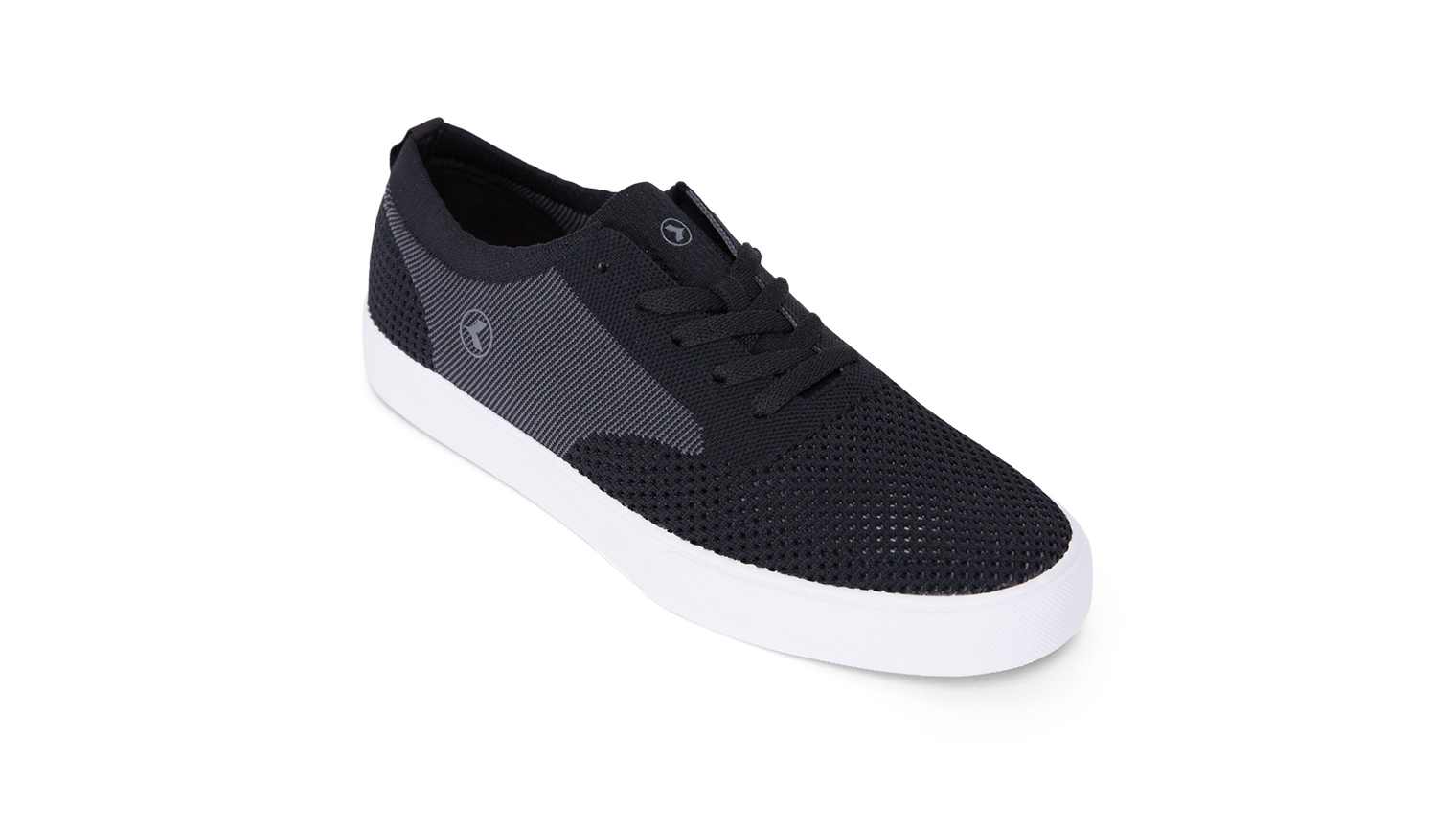 KUSTOM SHOES BURLEIGH KNIT SHOE / BLACK GREY