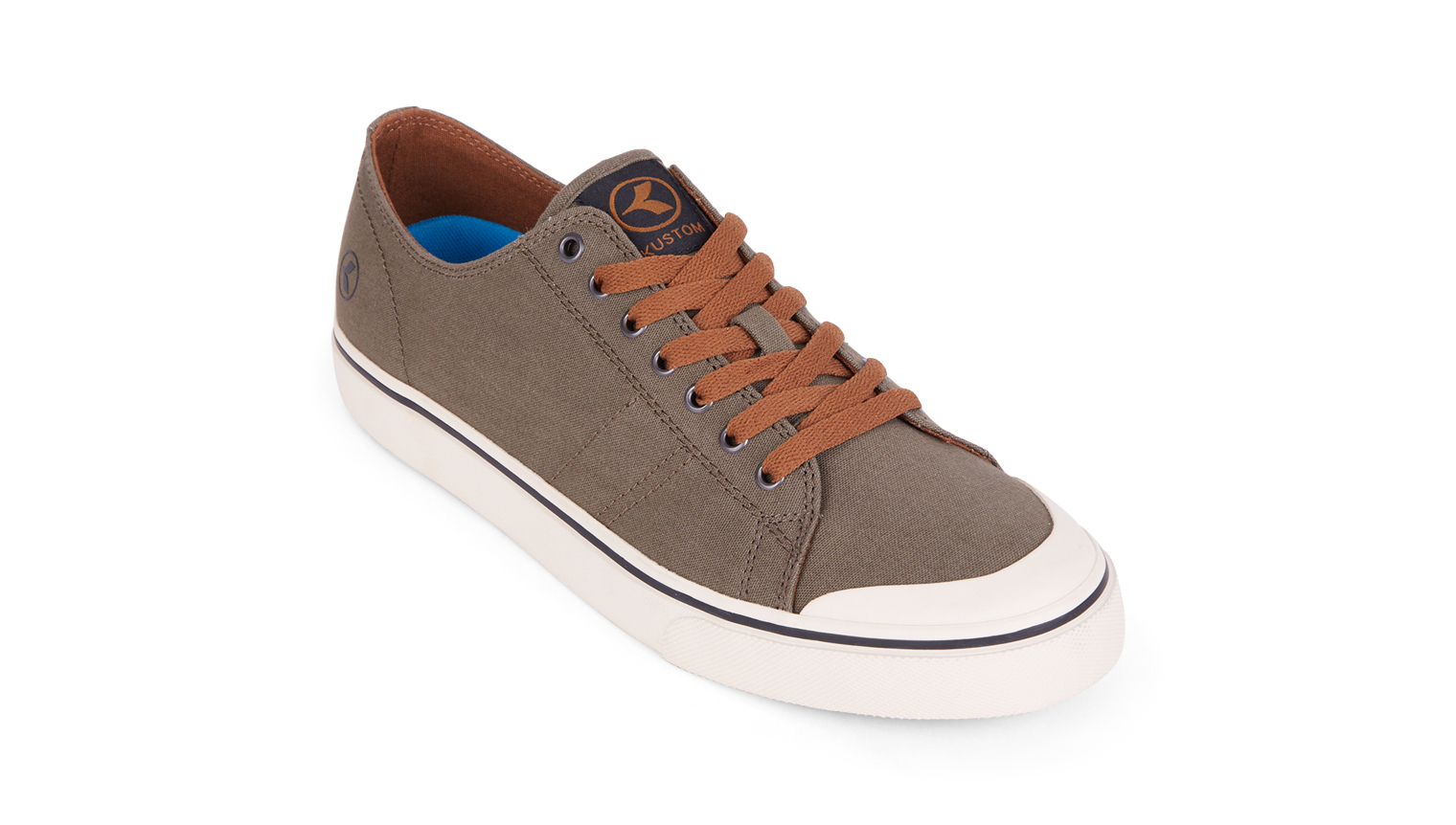 KUSTOM SHOES SLIM VULC SHOE / ARMY