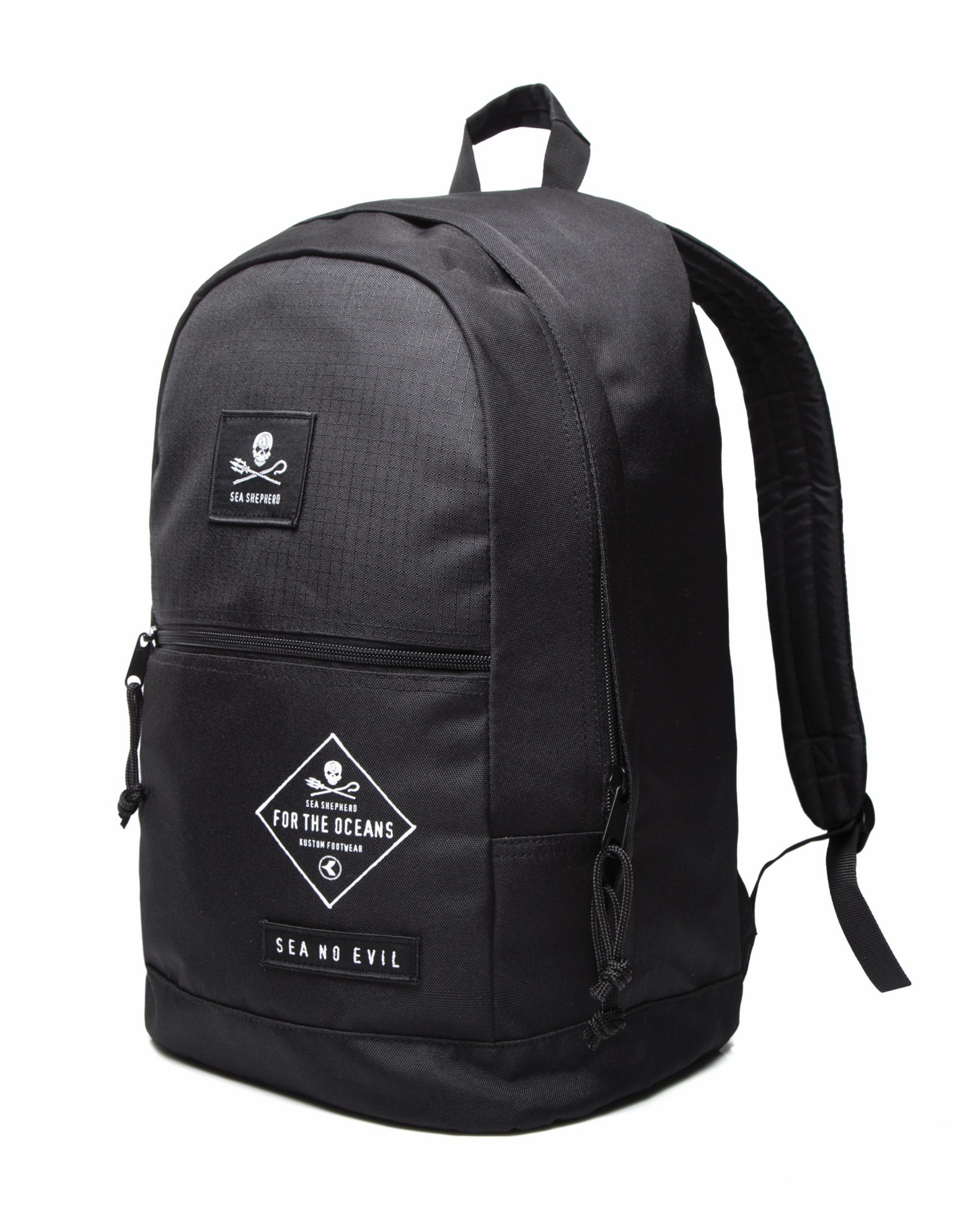 KUSTOM CLOTHING & ACCESSORIES SS DAYPACK BLK