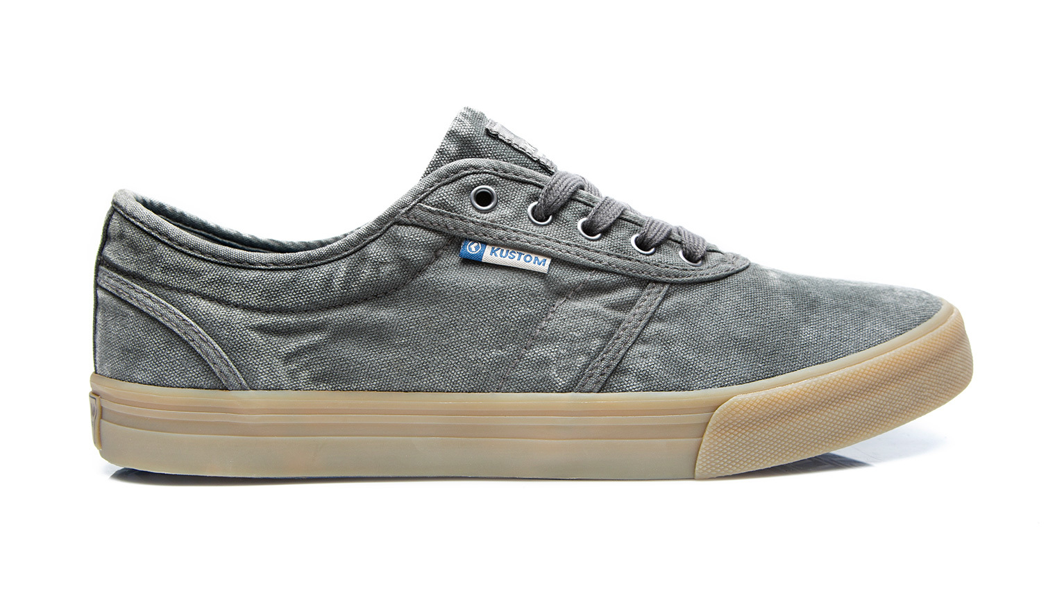 KUSTOM SHOES DROPKICK PRO SHOE / WASHED GREY