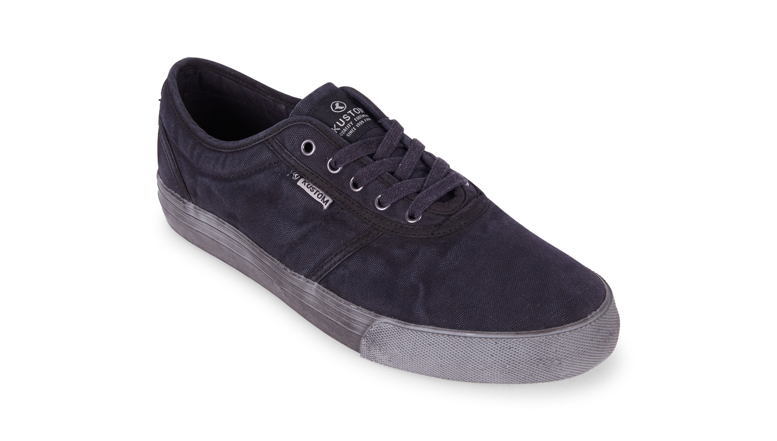 KUSTOM SHOES DROPKICK PRO SHOE / ALL BLACK