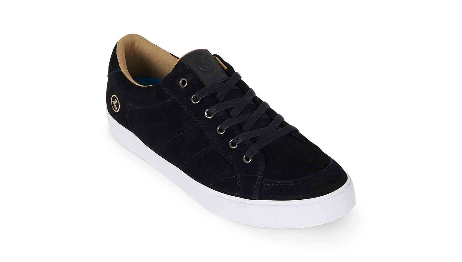 KUSTOM SHOES KRAMER SHOE / BLACK SUEDE
