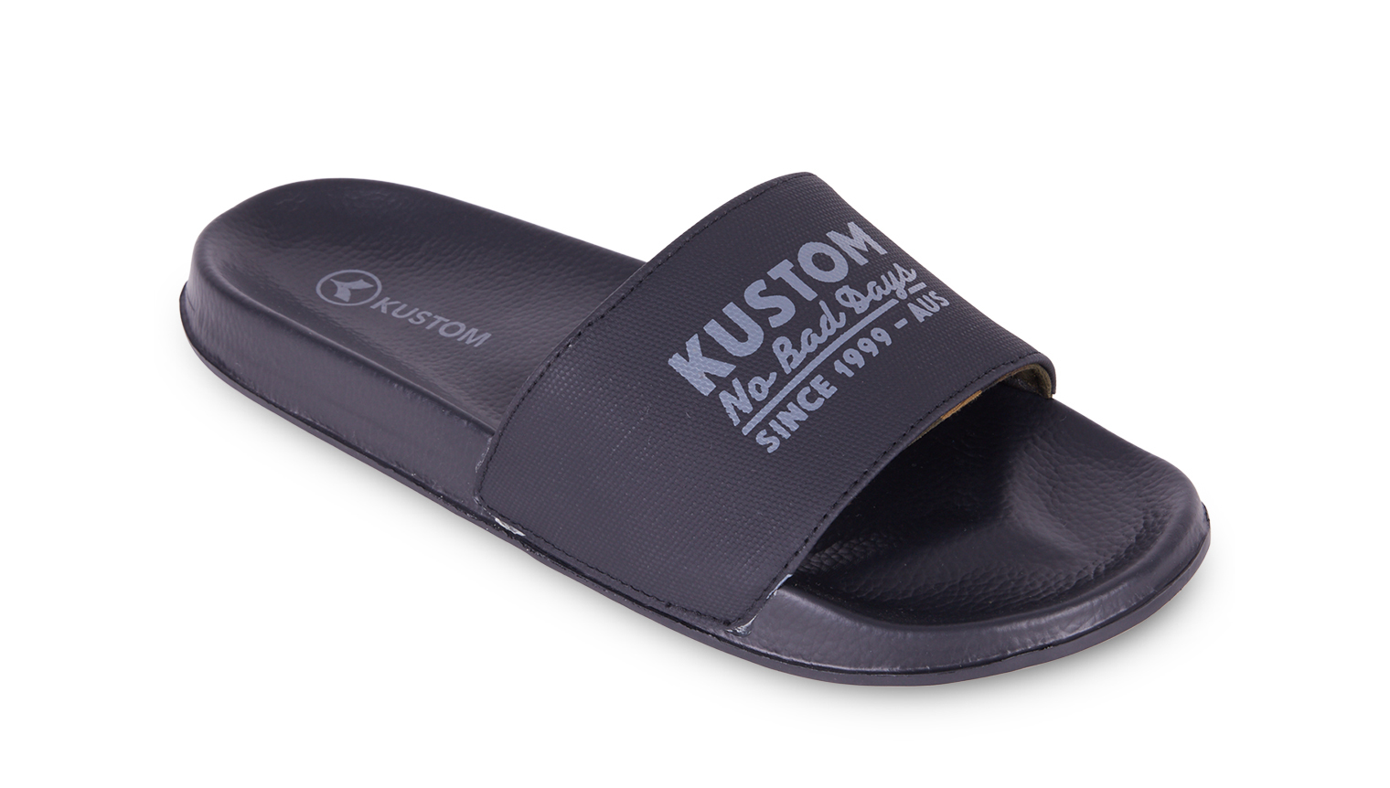 KUSTOM THONGS SUNDAY SLIDE / BLACK CAMO