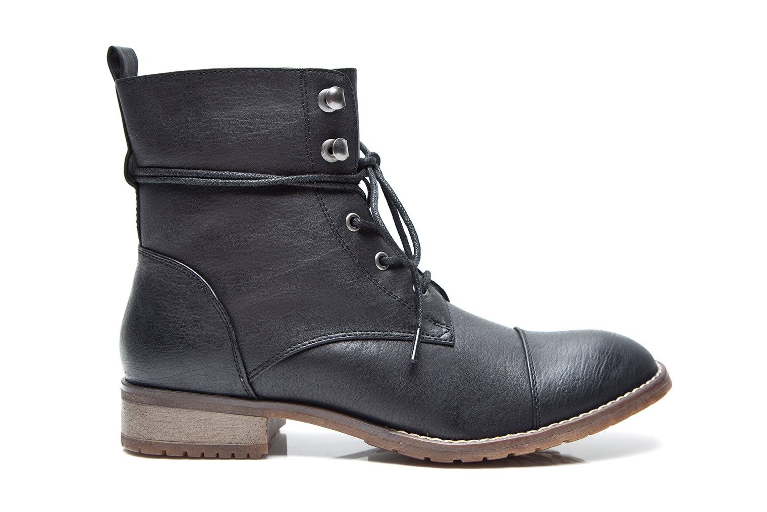 KUSTOM FOOTWEAR AVRIL BOOT / BLACK