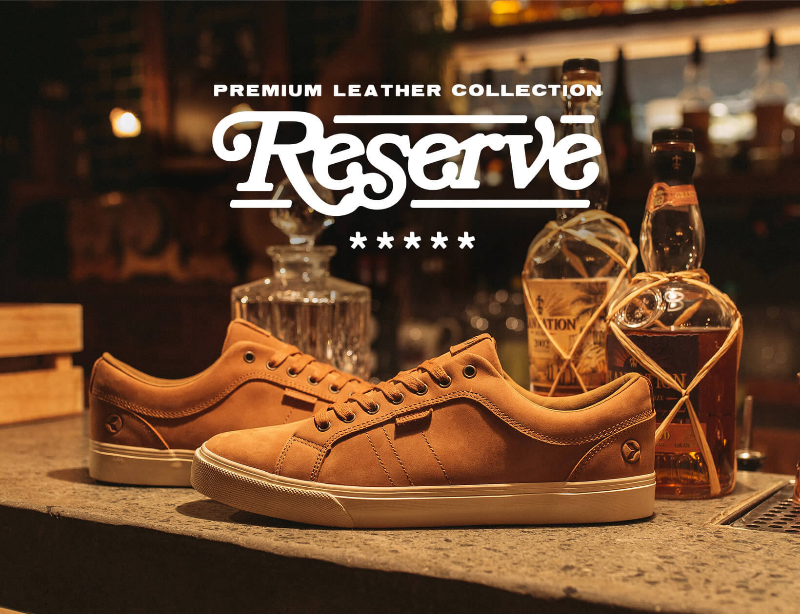 Reserve Premium Leather Collection